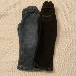 Boys 4t Jeans👖Carter's + Jumping Beans (2 pairs)